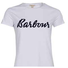 New 2020 Barbour Rebecca T-Shirt - White