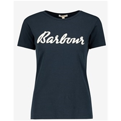 New 2020 Barbour Rebecca T-Shirt - Navy