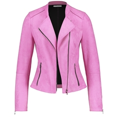 New 2020 Gerry Weber Suede Feel Blazer - Lilac