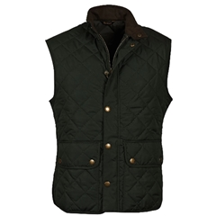 New 2020 Barbour Men's Lowerdale Gilet - Sage