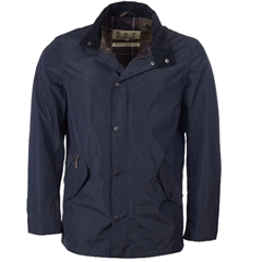 New 2020 Barbour Men's Spoonbill Waterproof Breathable Jacket - Navy