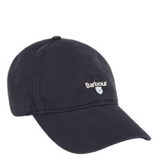 New 2020 Barbour Men's Cotton Sports Cap - Cascade - Navy