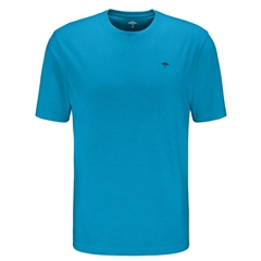 Fynch Hatton Cotton T-Shirt - Crystal Blue