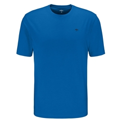 New 2021 Fynch Hatton Cotton T-Shirt - Royal Blue