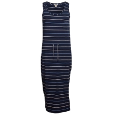 New 2020 Barbour Overland Maxi Dress - Navy