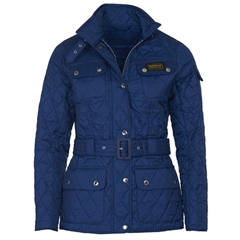 New 2020 Barbour International Quilted Jacket - Navy