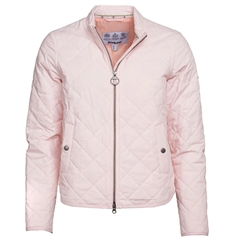 New 2020 Barbour Harbourside Quilted Jacket - Pink