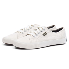 New 2020 Barbour Luna Trainers - White