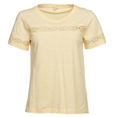 New 2020 Barbour Pier T-shirt - Yellow