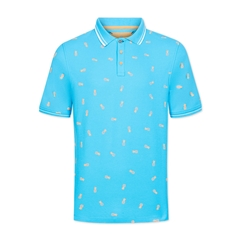 Colours & Sons Polo Shirt - Pineapple