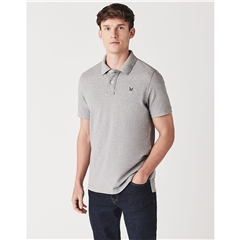 Crew Men's Pique Polo - Grey