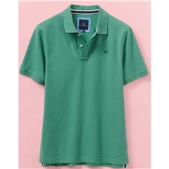 Crew Men's Pique Polo - Seaspray Green