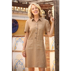 New 2020 Pomodoro Safari Dress - Sand