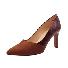Peter Kaiser Ekatarina Stylish Leather Courts - Sable