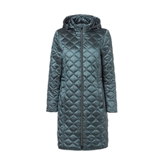 Olsen Quilted Coat - Teal