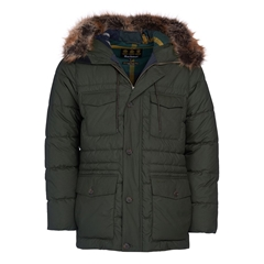 Barbour Men's Morton Quilt - Sage