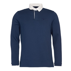 Barbour Sinclair Rugby Shirt - Navy