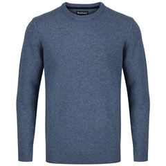 New 2020 Autumn Barbour Tisbury Sweater - Blue