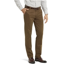 New Meyer Autumn Cotton Trouser - Caramel - 5548 45