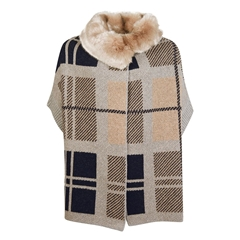 New 2020 Barbour Angus Cape - Beige