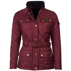 New 2020 Barbour International Polarquilt Jacket - Port