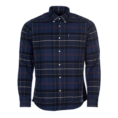Barbour Lustleigh Shirt - Navy Marl Tartan