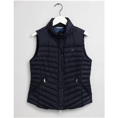 New 2020 Gant Women's Down Gilet - Navy