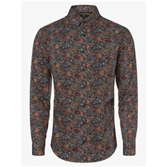 Fynch Hatton  Cotton Shirt - Multicolour Paisley