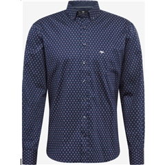 Fynch Hatton  Supersoft Cotton Twill Shirt - Paisley Print