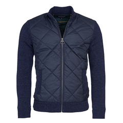 New 2020 Barbour Magnus Zip Sweater - Navy