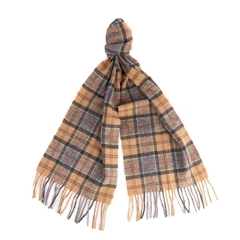 Barbour Unisex Lambswool Scarf - Sand
