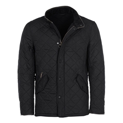 Barbour Powell Quilted Jacket - Black