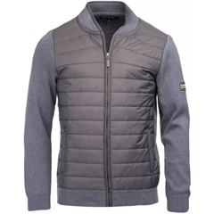 Barbour International Baffle Zip Through - Grey