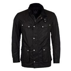 New 2021 Barbour International Duke Wax - Black