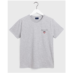 Gant Medium Shield T-Shirt - Grey