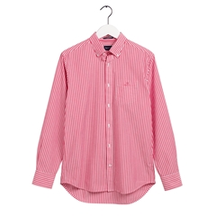 New 2020 Gant Broad Cloth Shirt - Chateau Rose