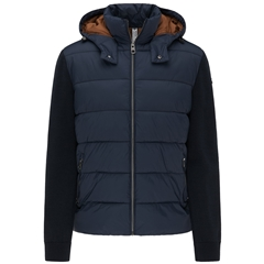New 2020 Fynch Hatton Quilted Jacket - Navy
