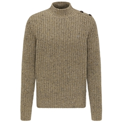 New 2020 Fynch Hatton Pure Lambswool  Sweater - Sand