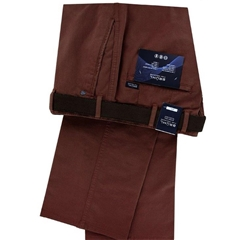 New Bruhl Cotton Trouser - Cinnamon - Montana 184090 850