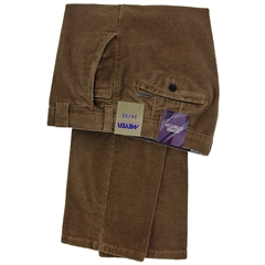 Meyer Cotton Corduroy Trouser - Roma 3702 37 - Walnut
