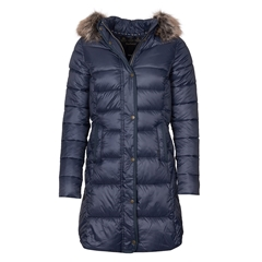 Barbour Jamison Quilted Jacket - Navy