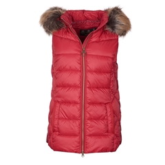 New 2020 Barbour Irving Gilet - Red