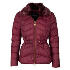 New 2020 Barbour International Halfback Quilted Jacket - Port