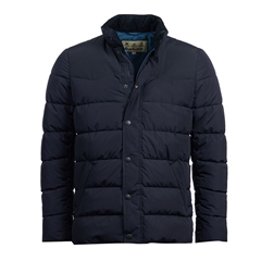 New 2020 Barbour Stevenson Quilted Jacket - Navy