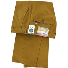 Meyer Cotton Twill Trouser - Mustard - Rio 3521 42