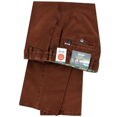 New Autumn Meyer Cotton Trouser - Syrup  - Oslo 5552 47