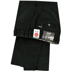 New Autumn Meyer Cotton Trouser - Dark Grey  - Oslo 5552 07