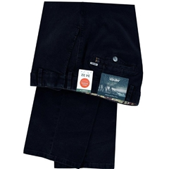 New Autumn Meyer Cotton Trouser - Denim Blue - Oslo 5552 17