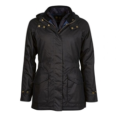 New 2020 Barbour Aberdeen Waxed Jacket - Navy