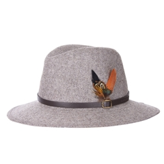Barbour Dene Fedora - Grey